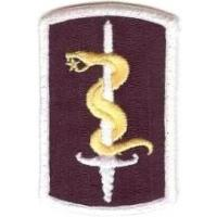 30 Medical Brigade Patch. US Army