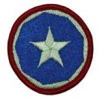 9 Support Command Patch. US Army