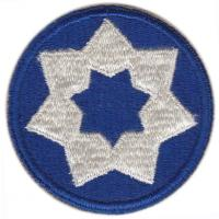 7 Corps Area Service Command Patch. US Army