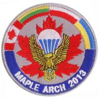 "Patches of multinational tactical exercise ""Maple Arch 2013"" Ukraine"