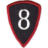 8 Personnel Command Patch. US Army