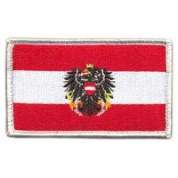 Austrian National Flag Patch of Armed Forces