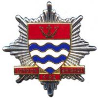 Greater London Council Fire Brigade, cap badge