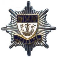 Teeside Fire Brigade, cap badge