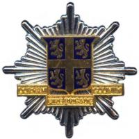 Durham County Fire Brigade, cap badge
