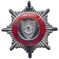 Portsmouth City Fire Brigade, cap badge
