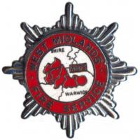 West Midlands Fire Brigade, cap badge