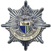 Darlington Fire Brigade, cap badge