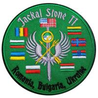 "International special operations forces exercise ""Jackal Stone"" Patche"