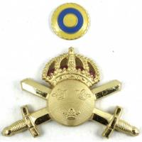 Sweden Army Officers Cap Badge