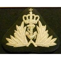 Admiral Embroidered Badge of the Royal Navy of Norway