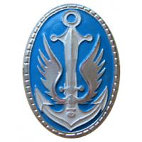 Beret Badge of Marine Corps Ukrainian Navy