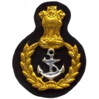 Sergeant Beret Cockade of the Indian Navy