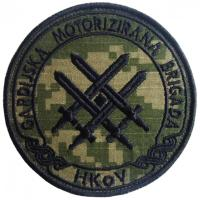 Patches mechanized brigade armed forces of Croatia