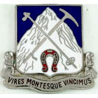 87th infantry regiment( mountain) part of 10 Mountain Division