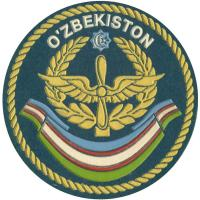 Shoulder patch Air Force of the Republic of Uzbekistan