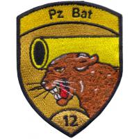 12th Armored Battalion Patch of the Armed Forces of Switzerland