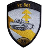 28th Armored Battalion Patch of the Armed Forces of Switzerland