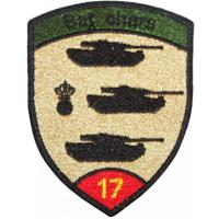 17th Armored Battalion Patch of the Armed Forces of Switzerland