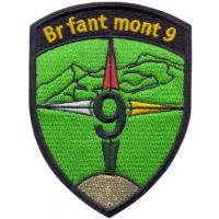 9th Mountaineering Brigade Patch of the Armed Forces of Switzerland