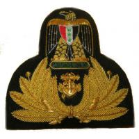 Iraqi Naval Officer Hat Badge