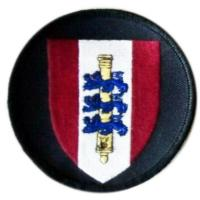 Danish Royal Army 5th artillery regiment Patch