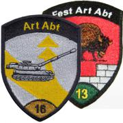 Artillery Patches