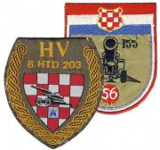 Patches artillery units